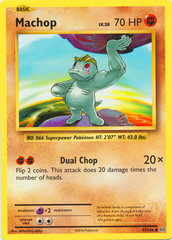 Machop - 57/108 - Common