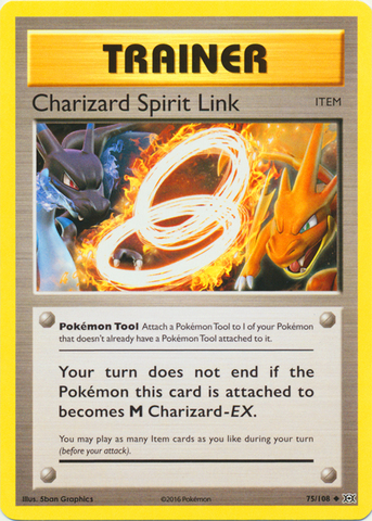 Charizard Spirit Link - 75/108 - Uncommon