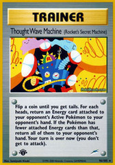 Thought Wave Machine - 96/105 - Rare - 1st Edition