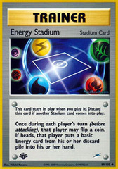 Energy Stadium - 99/105 - Uncommon - 1st Edition