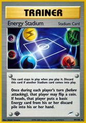 Energy Stadium - 99/105 - Uncommon - 1st Edition