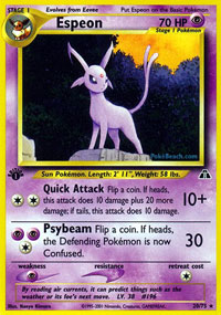 Pokemon Neo Discovery Uncommon Card #42//75 Metapod