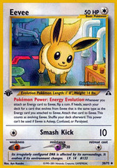 Eevee - 38/75 - Uncommon - 1st Edition