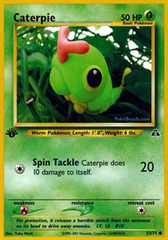 Caterpie - 53/75 - Common - 1st Edition