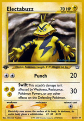 Electabuzz - 33/111 - Uncommon - 1st Edition