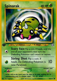 Sunkern 78//111 Neo Genesis Set COMMON Pokemon Card NEAR MINT
