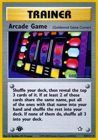 Arcade Game - 83/111 - Rare - 1st Edition