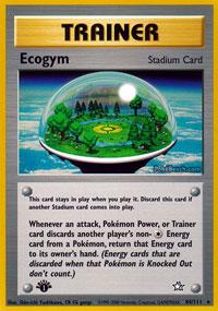 Ecogym - 84/111 - Rare - 1st Edition