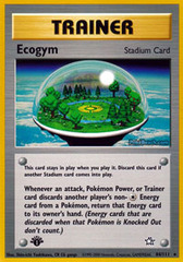 Ecogym - 84/111 - Rare - 1st Edition on Channel Fireball