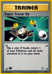 Super Scoop Up - 98/111 - Uncommon - 1st Edition