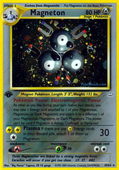 Magneton - 10/64 - Holo Rare - 1st Edition on Channel Fireball