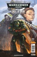 Warhammer 40000 Will Of Iron #1 (Of 4) Nycc Exc