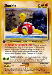 Shuckle - 51/64 - Common - 1st Edition on Channel Fireball