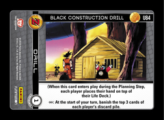 Black Construction Drill - U84 - Foil