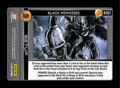 Black Memories - R101 - Foil