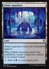 Dimir Aqueduct on Channel Fireball