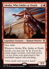 Alesha, Who Smiles at Death on Channel Fireball