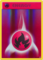 Fire Energy - 92/108 - Common - Reverse Holo on Channel Fireball