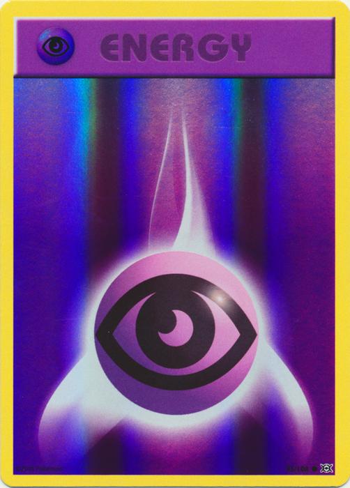 Psychic Energy — 10× Mint Pokemon Cards Theme Deck Ring of Lightning