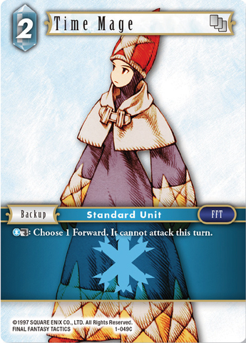 Time Mage - 1-049C