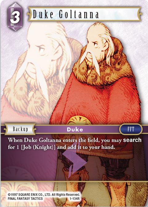 Duke Goltanna - 1-134R