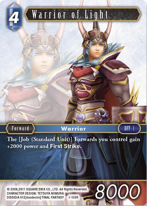 Warrior Of Light - 1-155R