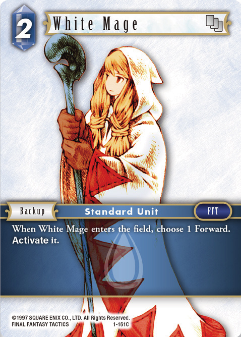 White Mage - 1-161C