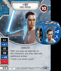 Rey - Force Prodigy (Sold with matching Die)