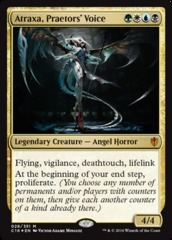 Oversized Foil - Atraxa, Praetors' Voice on Channel Fireball