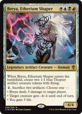 Oversized Foil - Breya, Etherium Shaper