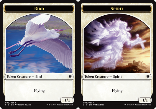 Bird Token (1/1) // Spirit Token
