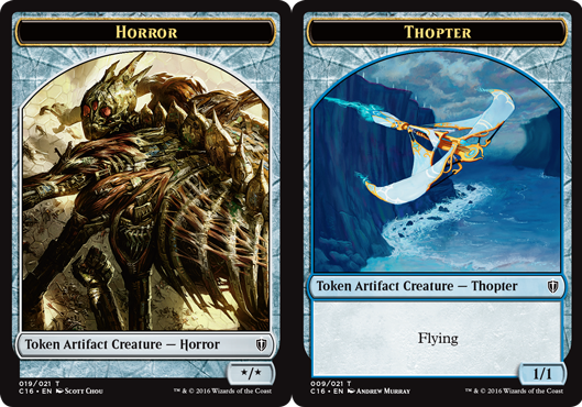 Horror Token // Thopter Token