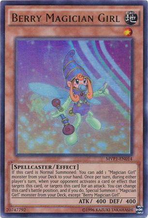 Berry Magician Girl - MVP1-EN014 - Ultra Rare - Unlimited Edition