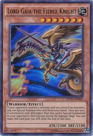 Lord Gaia The Fierce Knight Mvp1 En050 Ultra Rare