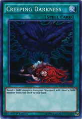 Creeping Darkness - DESO-EN058 - Super Rare - 1st Edition on Channel Fireball