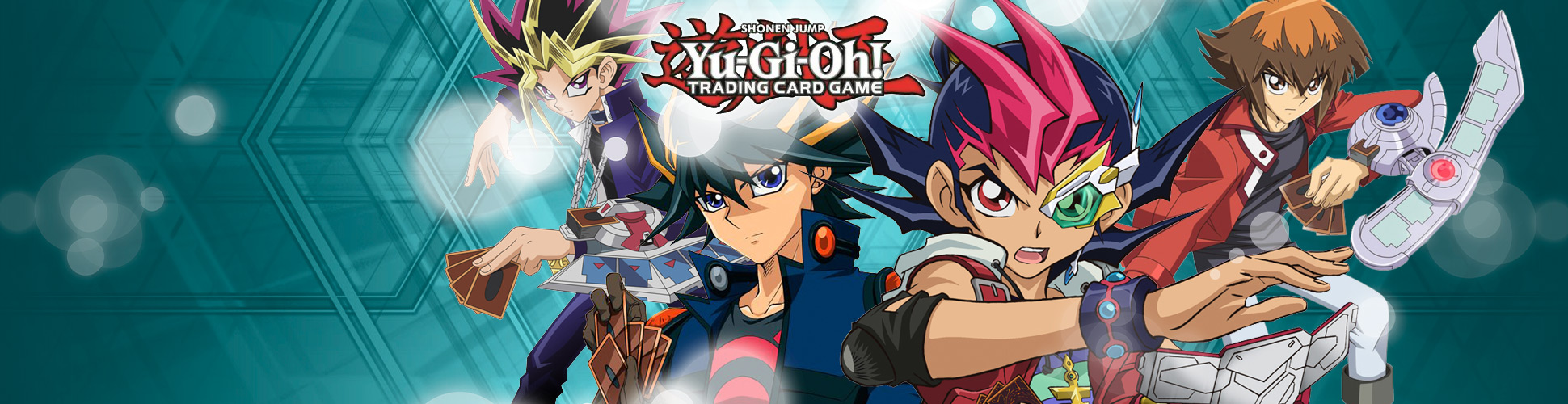 Browse the latest Yu-Gi-Oh! sealed product!