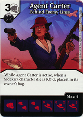Agent Carter - Behind Enemy Lines (Foil) (Die & Card Combo)