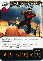 Black Tom Cassidy - Trusty Shillelagh (Die & Card Combo)
