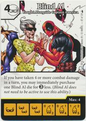 Blind Al - Fought Alongside Captain America (Die & Card Combo)