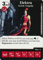 Elektra - Greek Tragedy (Die & Card Combo)