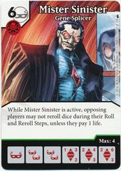 Mister Sinister - Gene Splicer (Die & Card Combo)