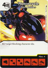 Motorcycle - Burn Rubber (Foil) (Die & Card Combo)