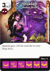 Shiklah - Demon Bride (Foil) (Die & Card Combo)