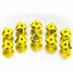 Legend of the Five Rings - The Dragon Clan Dice Set (10 d10s)