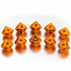 Legend of the Five Rings - The Phoenix Clan Dice Set (10 d10s)