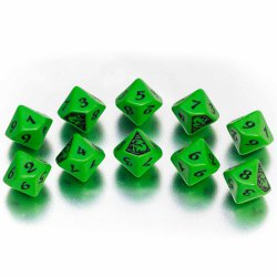 Legend of the Five Rings - The Mantis Clan Dice Set (10 d10s)