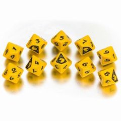 Legend of the Five Rings - The Lion Clan Dice Set (10 d10s)