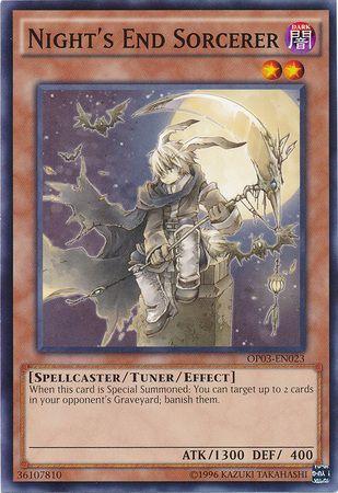 Nights End Sorcerer - OP03-EN023 - Common - Unlimited Edition