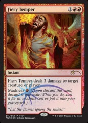 Fiery Temper - FNM 2016 on Channel Fireball