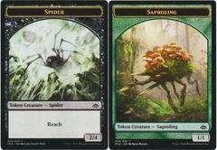 Spider Token // Saproling Token